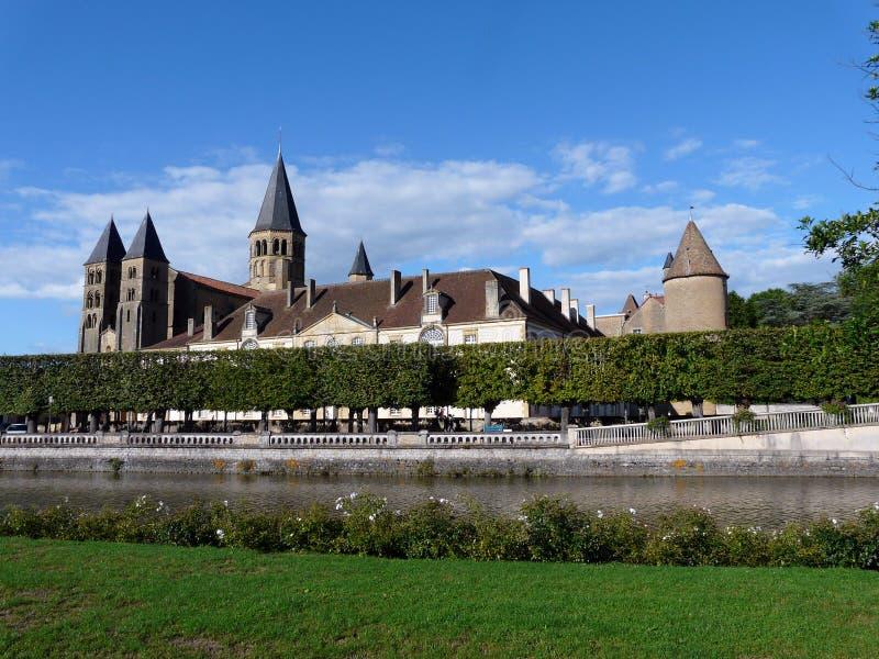 Basilica du Sacré-Coeur en el Paray-le-Monial imagen de archivo