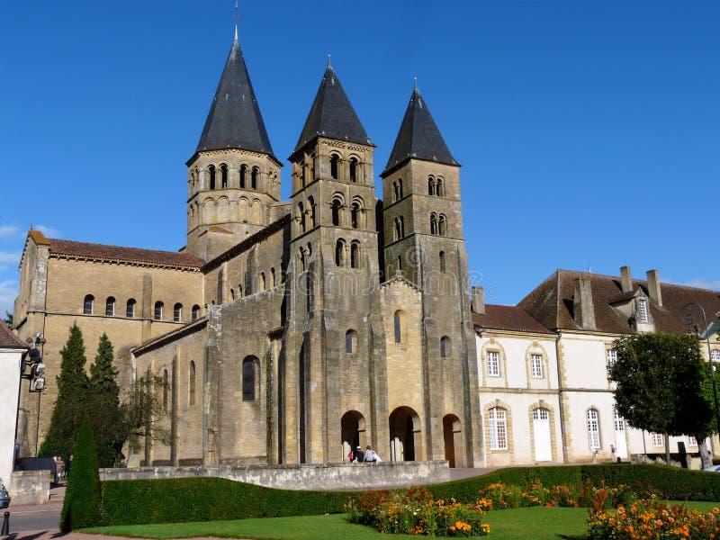 Basilica du Sacré-Coeur at Paray-le-Monial royalty free stock photos