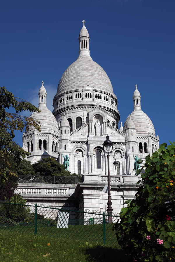 Basilica du Sacre Coeur lizenzfreie stockfotografie
