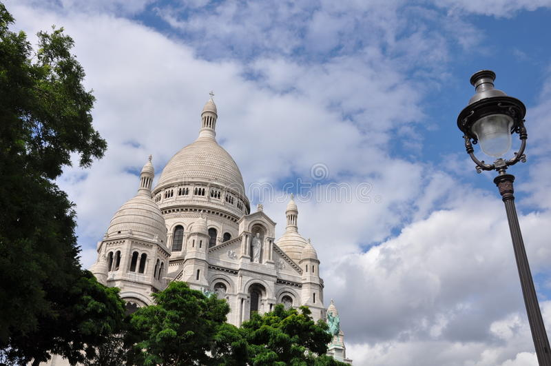 Basilica du Sacre-Coeur, Paris stock images