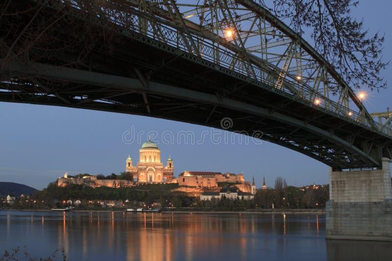 Basilica in Esztergom fotografia stock libera da diritti
