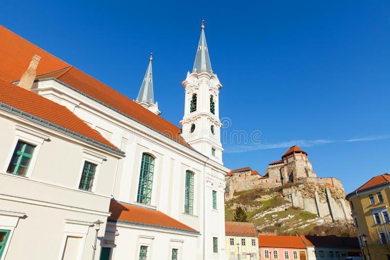 The Basilica in Esztergom royalty free stock photography