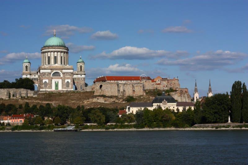 Basilica in Esztergom (Hungary). Europe stock image
