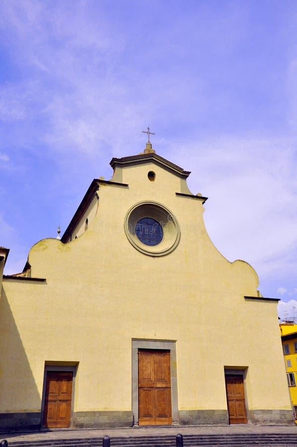 Basilica a Firenze, Italia   immagine stock libera da diritti