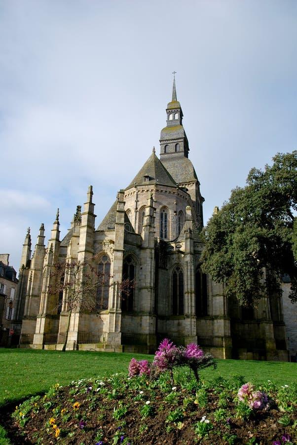 Download The Basilica And Garden Of Dinan Stock Image - Image of dinan, tilt: 18542831