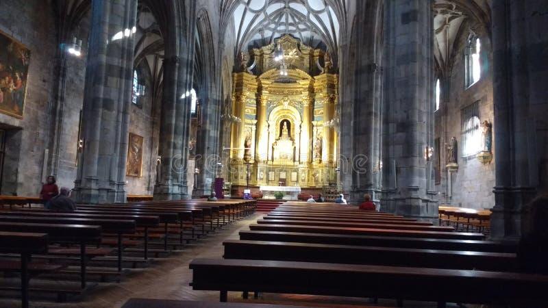 Basilica la Begonya Bilbao Spain royalty free stock photography