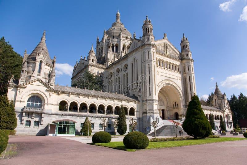 Download Basilica of Lisieux stock image. Image of basilique, french - 14850585