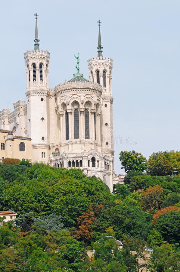 Download Basilica in Lyon stock photo. Image of fourviere, france - 22272174