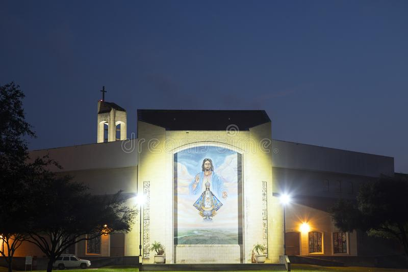 Basilica of Our Lady of San Juan del Valle royalty free stock photography