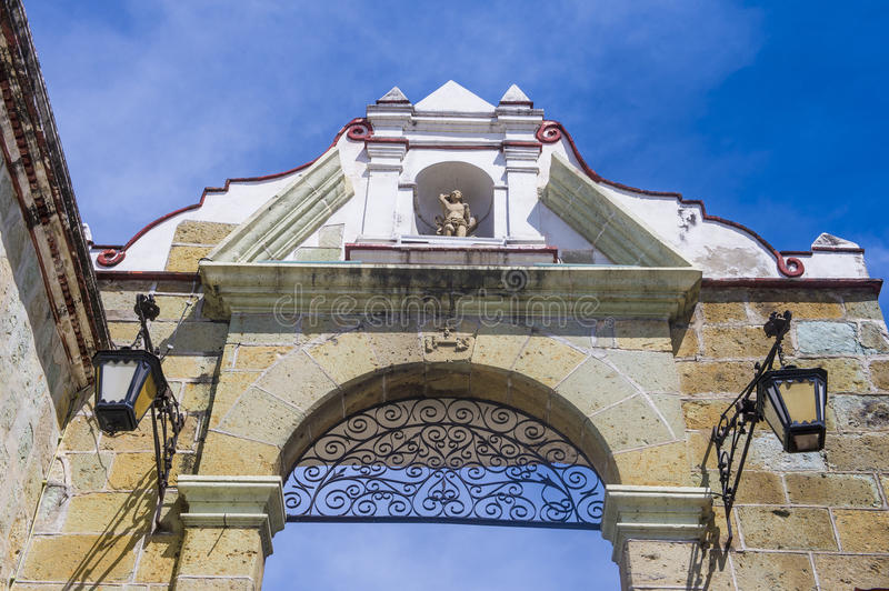 The Basilica of Our Lady of Solitude in Oaxaca Mexico stock images
