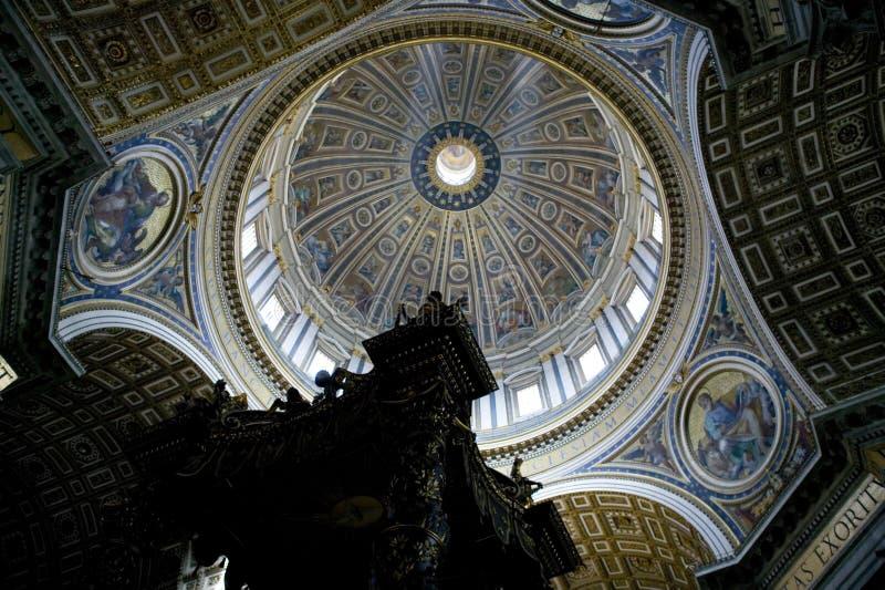Basilica Roma Italia della st Peter s fotografia stock libera da diritti