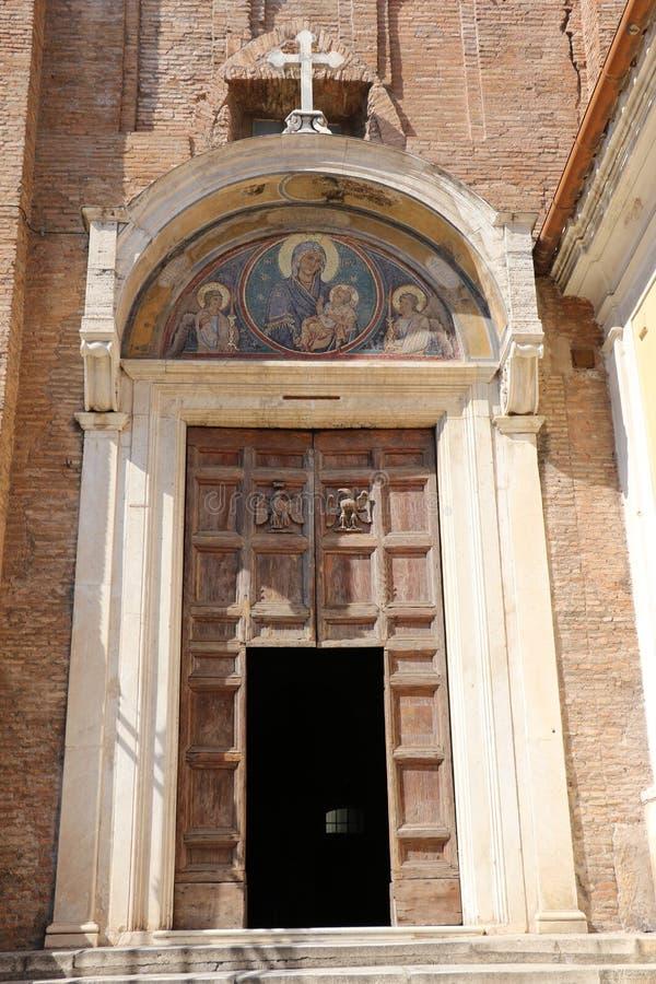 Download Basilica rome fotografering för bildbyråer. Bild av mary - 76703967