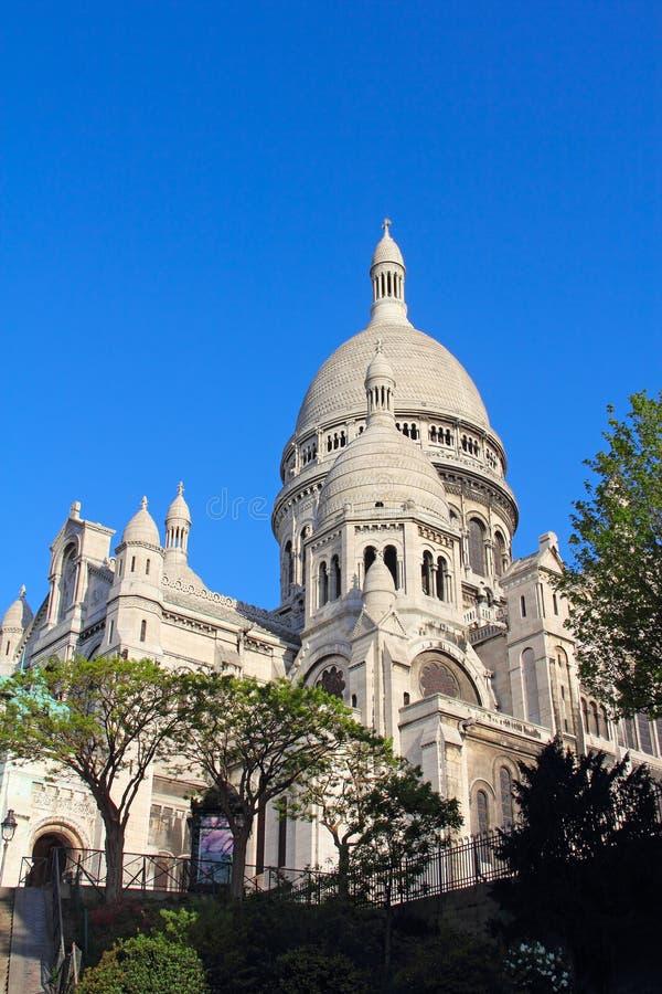 Basilica Sacre Coeur immagini stock
