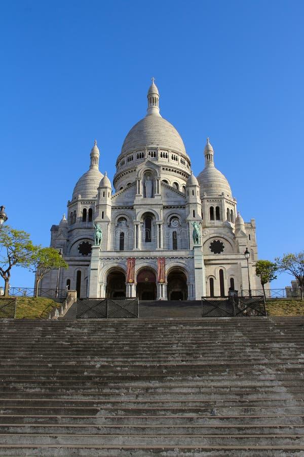 Basilica Sacre Coeur immagine stock