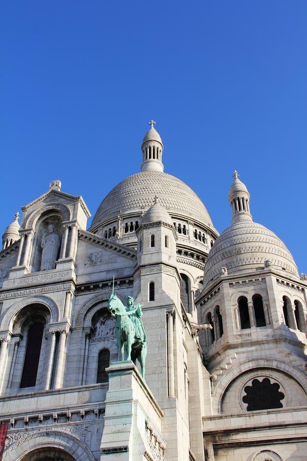Basilica Sacre Coeur fotografie stock libere da diritti