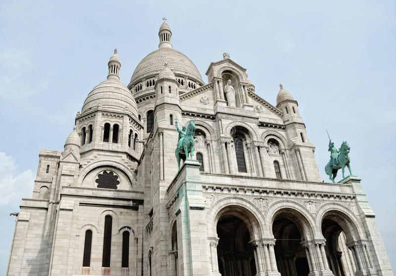 Download Basilica Of The Sacred Heart Stock Image - Image: 17135177