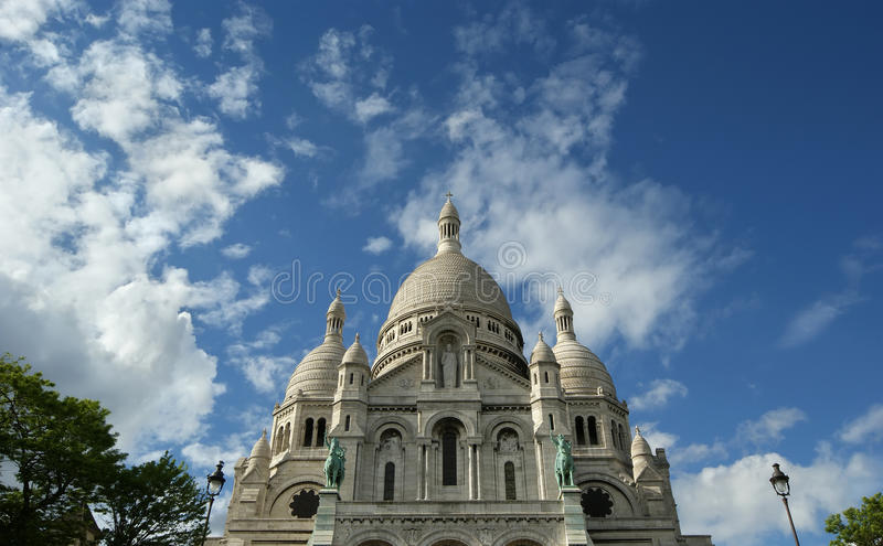 Download Basilica Of The Sacred Heart Of Paris Stock Image - Image: 24945529