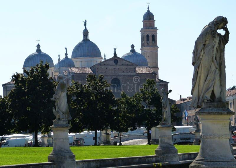 Basilica of Saint Anthony of Padua, Italy stock photos