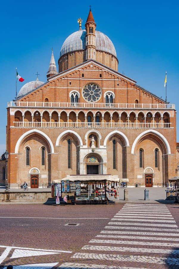 Basilica of  Saint Anthony of Padua stock photos