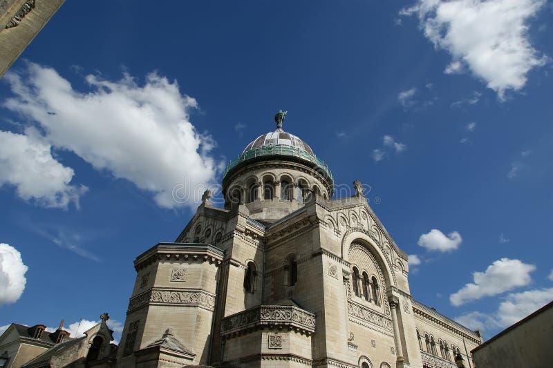 Download Basilica Of Saint-Martin, Tours, France Stock Image - Image of france, past: 26702309