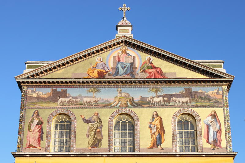 Download Basilica Of Saint Paul Outside The Walls Stock Photos - Image: 23645383