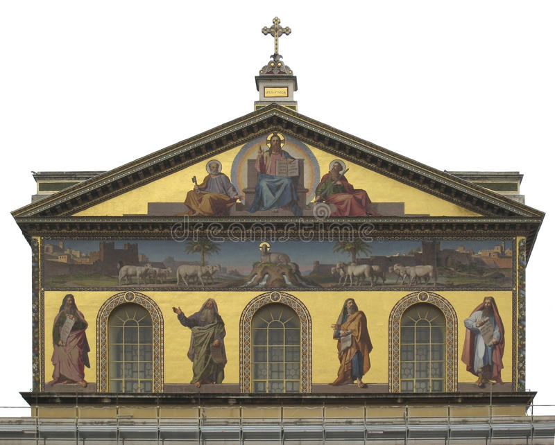 Download Basilica Of Saint Paul Outside The Walls Stock Image - Image of decoration, building: 25579017
