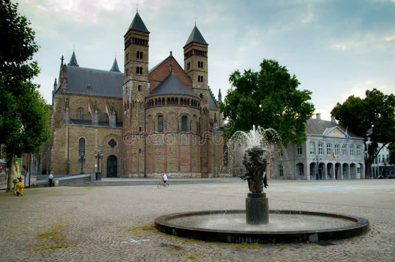 Basilica of Saint Servatius royalty free stock images