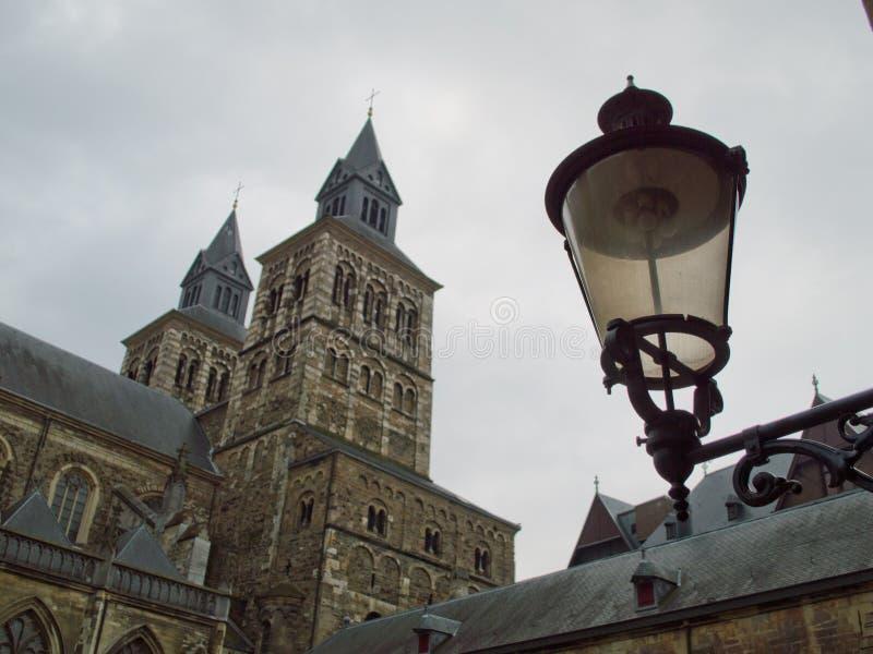 Basilica of Saint Servatius royalty free stock photos