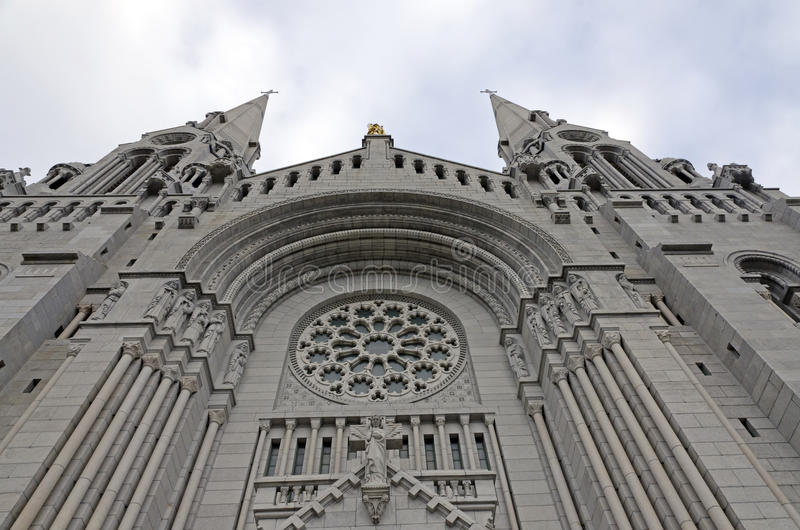 Basilica Sainte-Anne de Beaupre royalty free stock photos