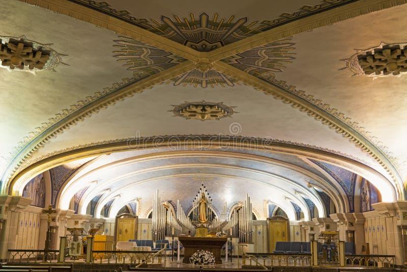Basilica of Sainte-Anne-de-Beaupre royalty free stock photography