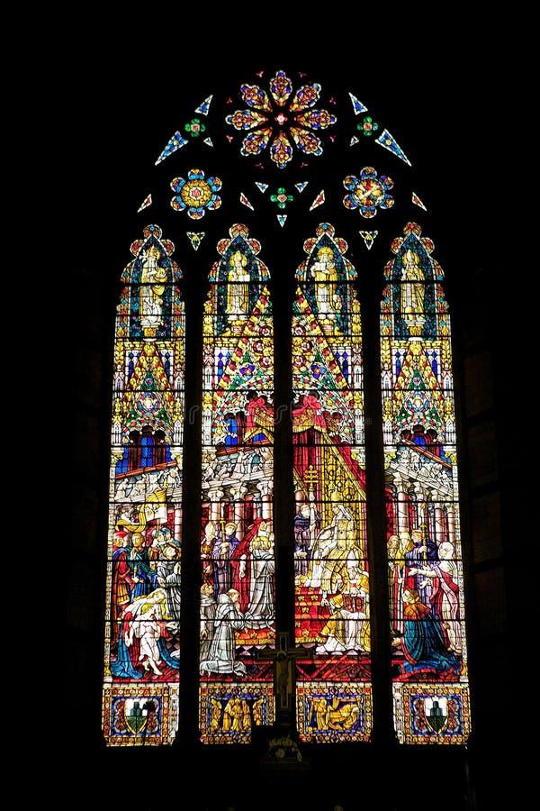 Basilica of San Francesco, Siena, Tuscany, Italy. royalty free stock image