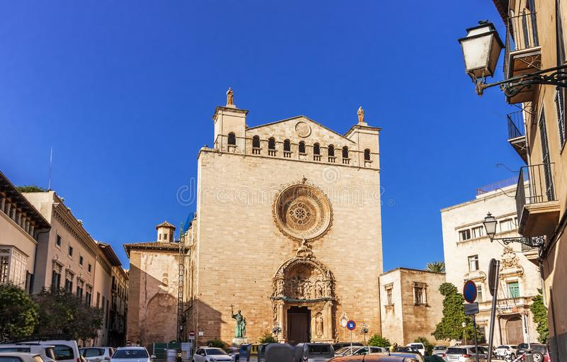 Basilica San Francisco - Palma de Mallorca, Spanje royalty-vrije stock fotografie