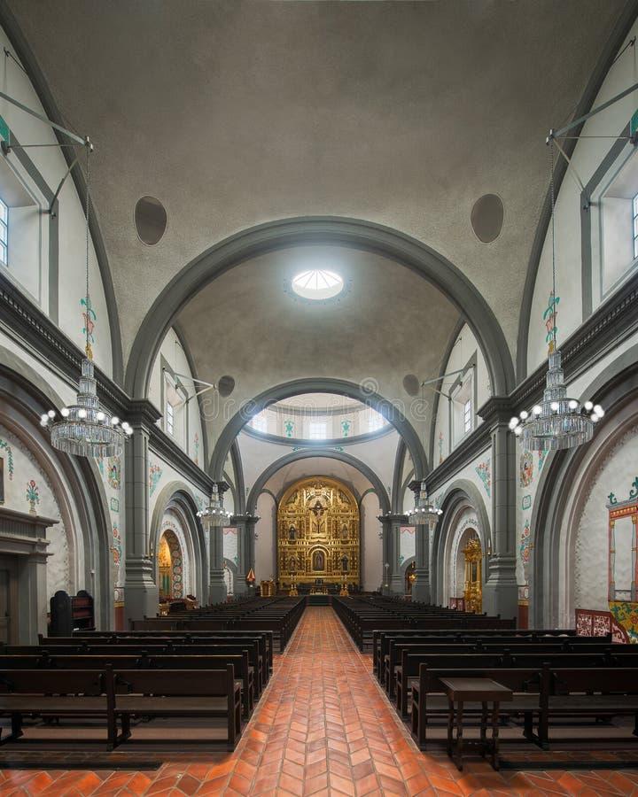 Basilica San Juan Capistrano di missione immagine stock