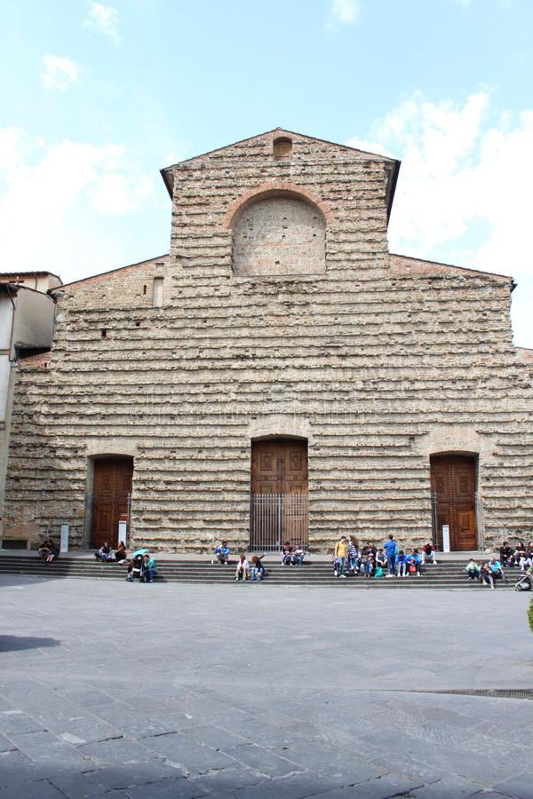 The Basilica of San Lorenzo royalty free stock image