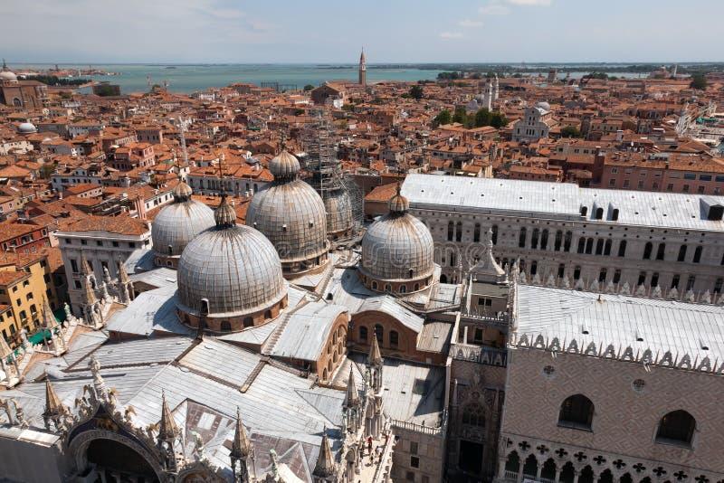 Basilica San Marco in Venice, Italy royalty free stock photo