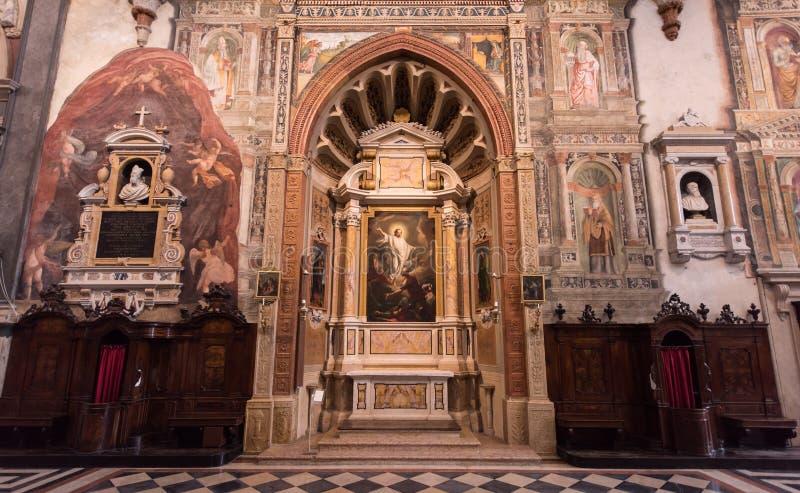 Basilica of San Zeno, Verona, Italy royalty free stock photos