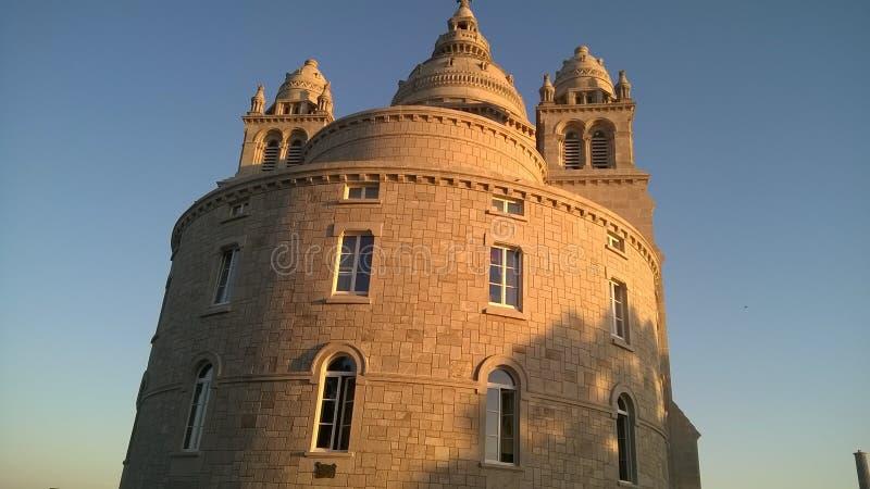 Basilica Santa Luzia - Viana do Castelo immagini stock libere da diritti