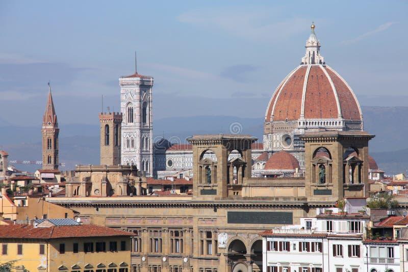 Basilica Santa Maria del Fiore royalty free stock photos