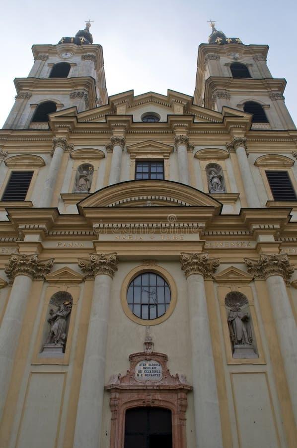 Basilica Sastin - Straze. A basilica in Sastin - Straze, Slovakia royalty free stock photos