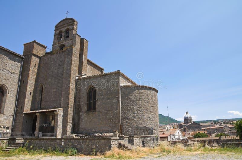 Download Basilica Of St. Francesco Alla Rocca. Viterbo. Stock Image - Image: 26240783
