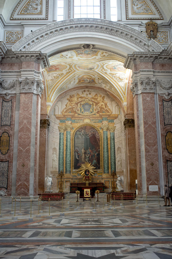 The Basilica of St. Mary of the Angels and the Martyrs in Rome
