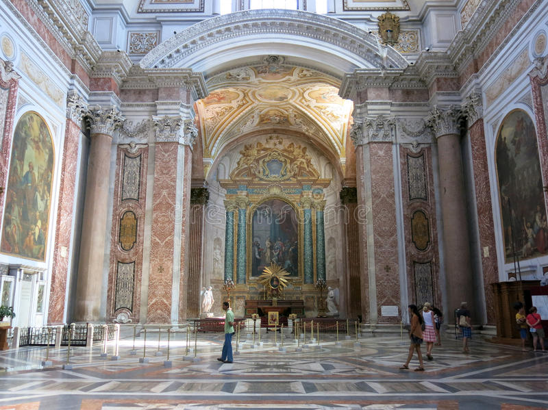 Download Basilica Of St. Mary Of The Angels And The Martyrs, Rome Editorial Stock Image - Image: 33536634