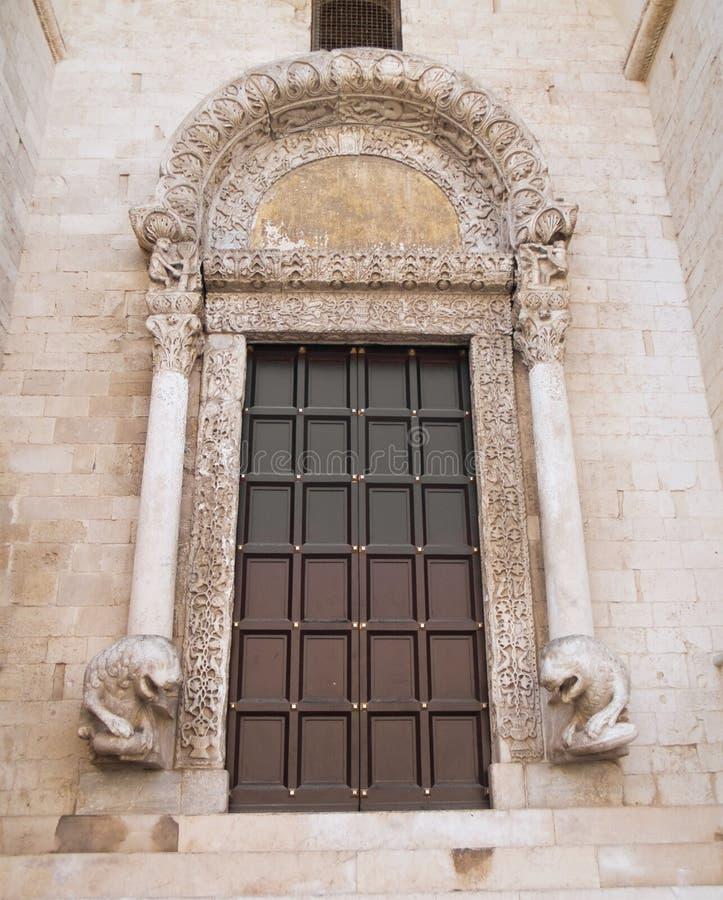 Basilica Of St. Nicholas. Bari. Apulia. Stock Images
