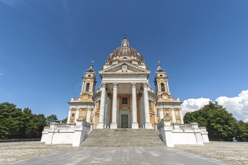 Basilica of Superga, Turin, Italy royalty free stock photography