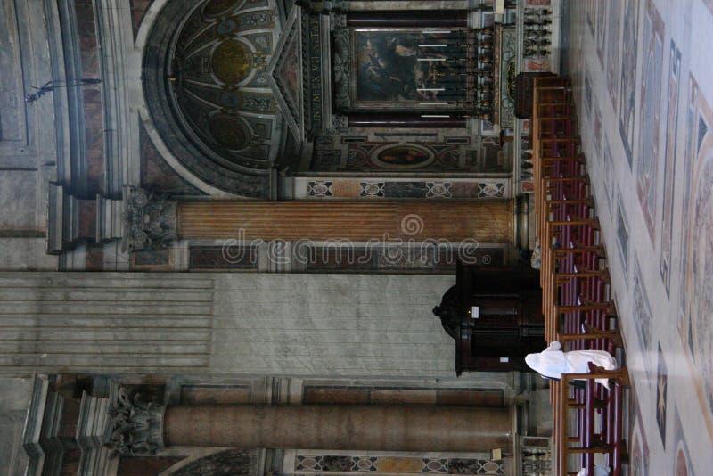 Basilica Vatican imagens de stock