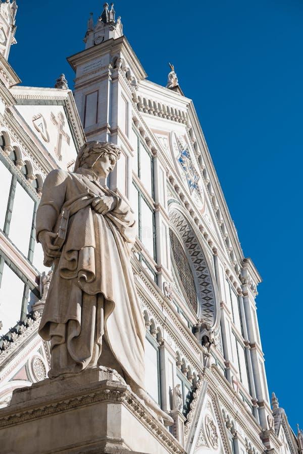 basilicacroce florence santa royaltyfri bild
