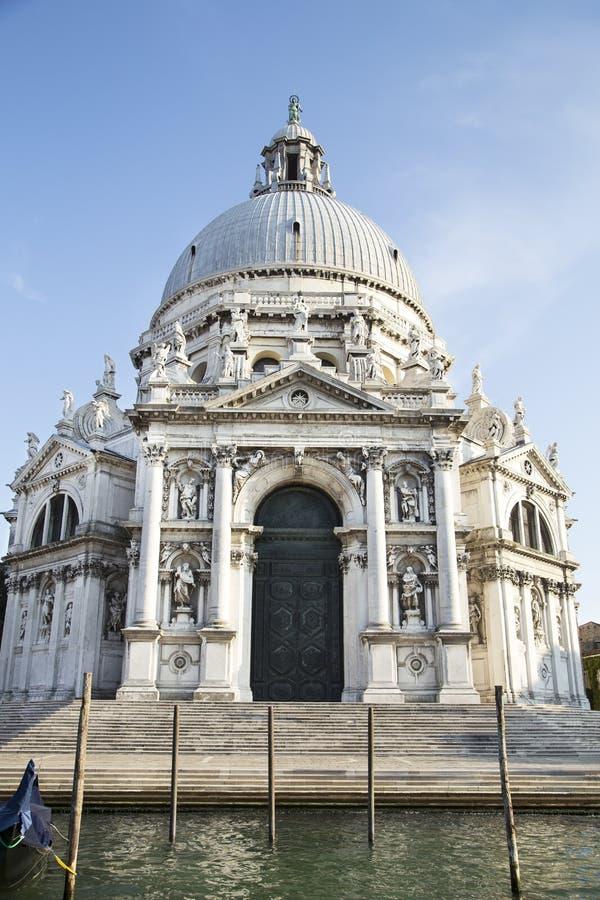 basilicadellamaria honn?r santa venice royaltyfri fotografi