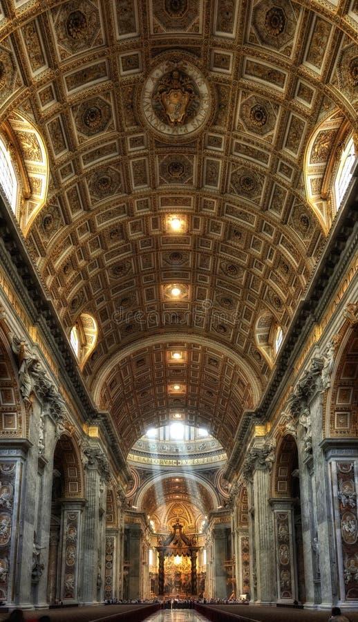basilicaen peter rays s-st-sunen arkivfoto