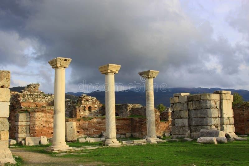 basilicajohn st arkivfoto