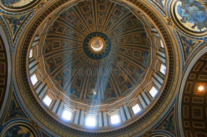 basilicaof Peter Rome święty obrazy royalty free